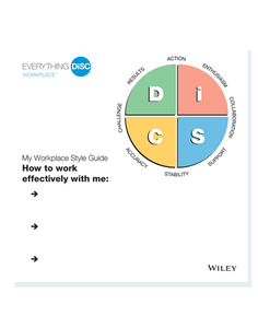 Everything DiSC Workplace® Style Guides