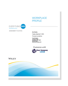 Everything DiSC Workplace® Profile