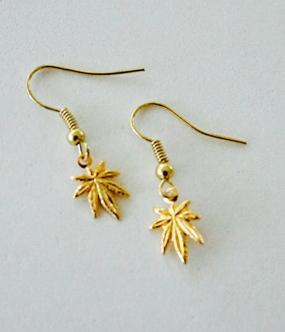 WaterLeaf Earrings GOLD