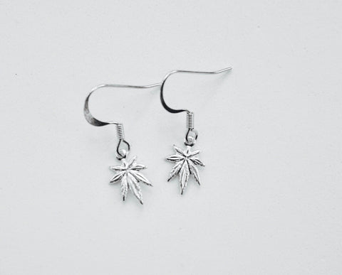 WaterLeaf Earrings SILVER