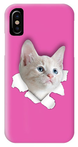 Naughty Cat 3D Print Phone Case for iPhone & Galaxy