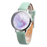 Girls Casual Cute Unicorn Leather Band Quartz Wrist Watch