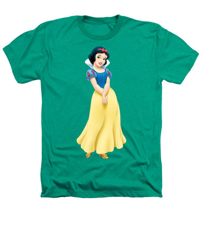 Snow White Heathers T-Shirt