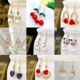 FREE Crystal Women's Dangle Earrings!!! JUST PAY SHIPPING!