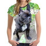 French Bulldog 3D Print Women T-Shirt