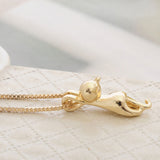 FREE Cute Hanging Cat Necklace & Pendant For Women