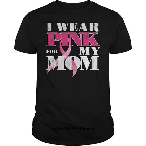 ''I Wear  for my Mom'' Cancer Awareness Shirt for Men