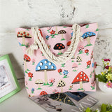 Women Floral Large Capacity Tote