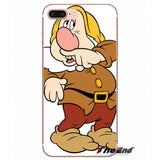 Snow White and the Seven Dwarfs Soft Case Cover For Samsung Galaxy
