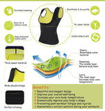 Women's Hot Sweat Slimming Neoprene Shirt Vest Body Shapers for Weight Loss - No Zipper!