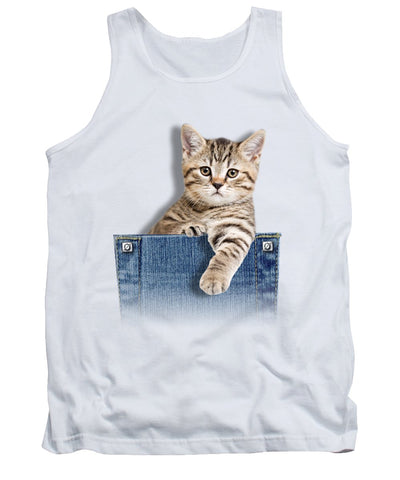 Beautiful Cat Print Tank Top