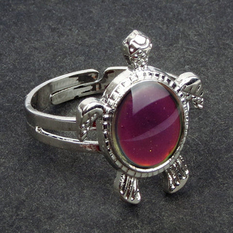 Lovely Turtle Mood Ring for Women and Girl