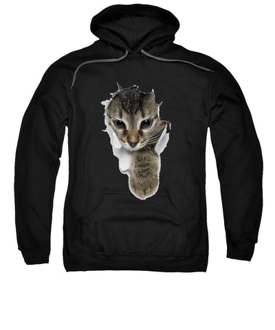 Cat Paw Sticking Out 3D Print Sweatshirt