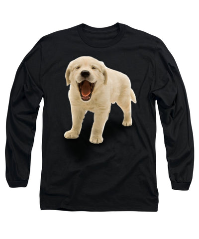Cute Puppy Print Long Sleeve T-Shirt