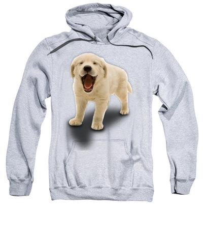 Cute Puppy Print Sweatshirt