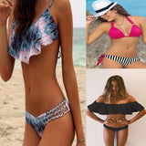Ladies Brazilian Beach Bathing Suit bandage Bikini Set