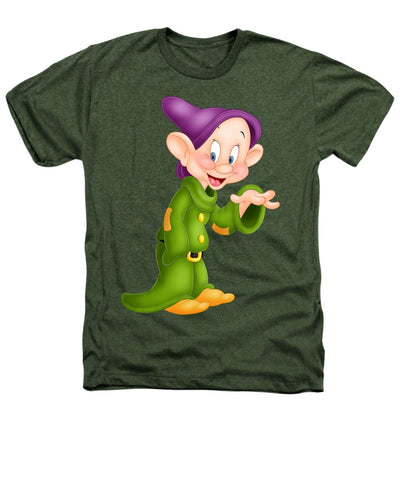 Dopey Dwarf Heathers T-Shirt for Men & Women