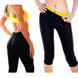 Sweat Sauna Body Shaper Fitness Stretch Control SlimPant