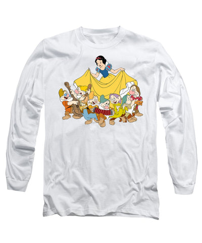 Snow White And Seven Dwarfs Long Sleeve T-Shirt for Men & Women