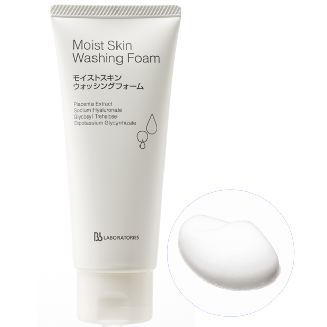 bb laboratories Moist Skin Washing Foam 100g