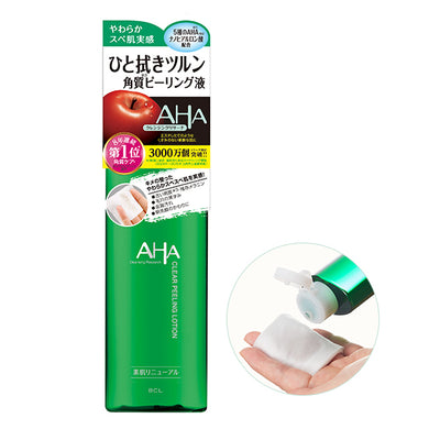 AHA by CLEANSING RESEARCH Clear lotion peeling exfoliator 145ml