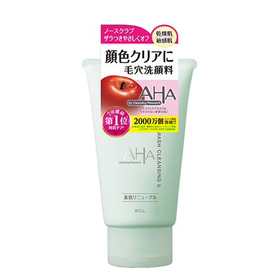 AHA by CLEANSING RESEARCH Wash cleansing b Face wash 120g no scrub