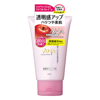 AHA by CLEANSING RESEARCH Wash cleansing r aging care Face wash