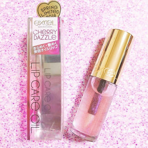 Excel lip care oil tint gloss Japan New color spring limited
