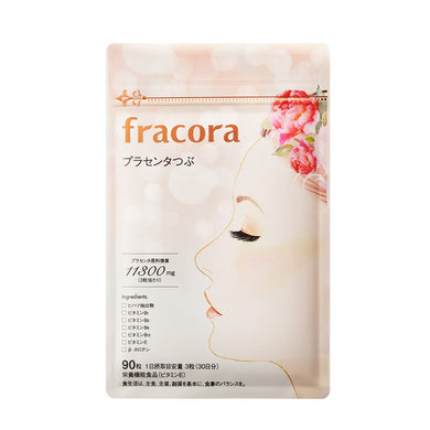 FRACORA WHITE'st Placenta Supplement 90 tab 11300mg
