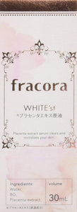 FRACORA WHITE'st Placental extract stock solution 30 ml essence