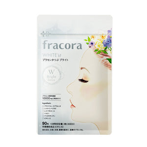 FRACORA WHITE'st Placenta Supplement Bright 90 tab 10000mg