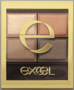 excel Skinny Rich Shadow SR02 Real Brown