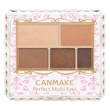 Canmake Perfect Multi Eyes [02] Urban Caramel