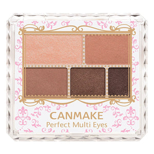 Canmake Perfect Multi Eyes [01] Rose Chocolat