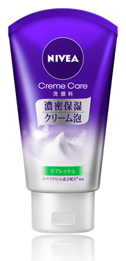 NIVEA Cream care facial cleanser refresh Face Wash 130g