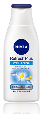 NIVEA BODY Refresh Plus Whitening Body Milk brightning 150ml