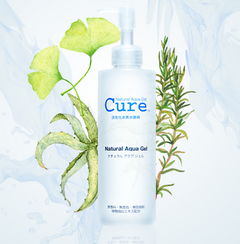 Cure Natural Aqua Gel Exfoliator gel