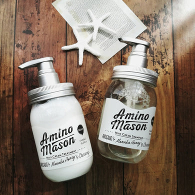 AMINO MASON Milk Cream Treatment moist type