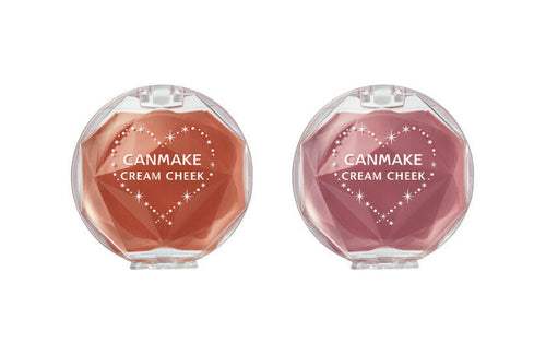 Canmake Cream Cheek blush New color 17 18 release Kawaii very popular Japan