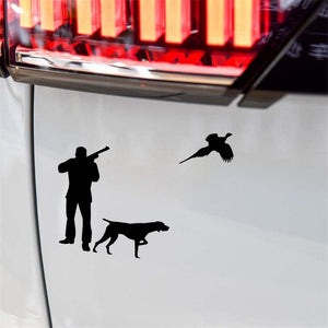 Pheasant Hunting Sticker 5x6""