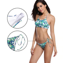 Load image into Gallery viewer, Floral Coco Print Bikini Set