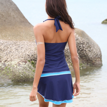 Load image into Gallery viewer, Backless Lace up Tankini set - Fast-Selections