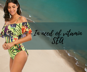 Women One-Piece Floral Swimwear - Fast-Selections