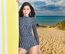 Load image into Gallery viewer, Long Sleeve Rash Guard Swimsuit - Fast-Selections