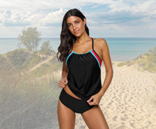 Load image into Gallery viewer, Colorblock Tankini - Fast-Selections