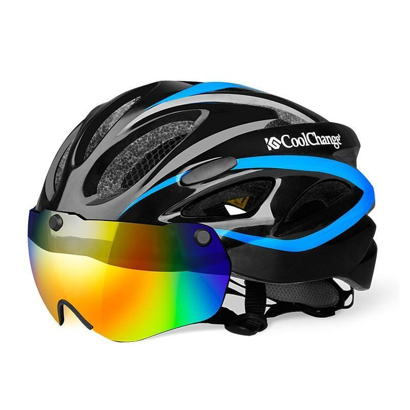 Bicycle Helmet with Insect Net and  Windproof Lenses ( Free Shipping ) - Fast-Selections