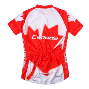 Canadian Flag Bicycle Apparel - Fast-Selections