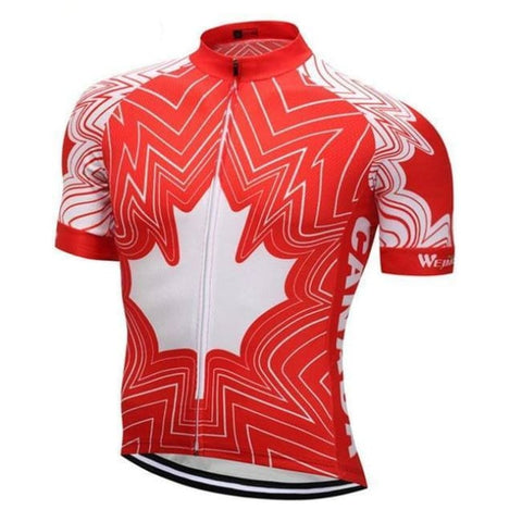 Canadian Flag Bicycle Apparel