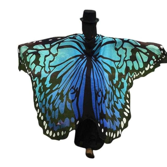Chiffon bandanna Butterfly Wings costume - Fast-Selections