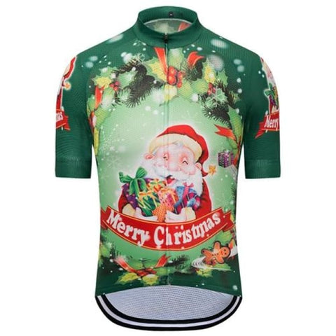 Christmas Cycling Jersey For Men